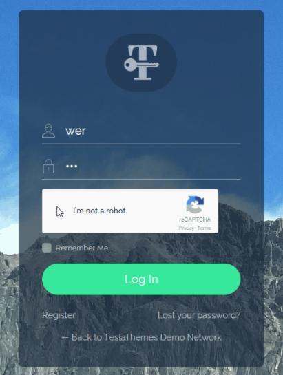 wtyczka login customizer formularz logowania